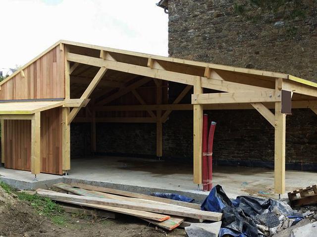 carport bois bordeaux bassin d 39 arcachon abris voiture. Black Bedroom Furniture Sets. Home Design Ideas